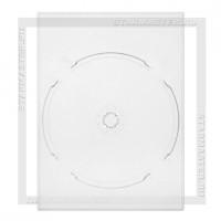Вставка DG Tray для 1 DVD диска, прозрачная