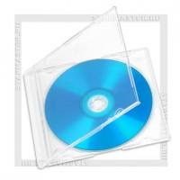 Коробка CD Box 1 диск Slim Clear 5мм (400K)