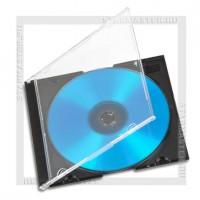 Коробка CD Box 1 диск Slim black 5мм (400K)
