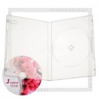 Коробка DVD Box 1 диск Clear 14мм