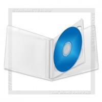 Коробка CD Box 2 диска Clear