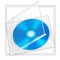 Коробка CD Box 1 диск Jewel Clear (Калуга)