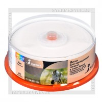 Диск SmartTrack DVD+R 4,7Gb 16x Printable cake box 25