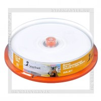 Диск SmartTrack CD-R 700Mb (80 min) 52x Printable cake box 10