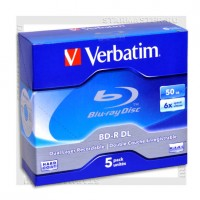 Диск Verbatim BD-R 50Gb 6x jewel box