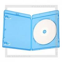 Коробка Blu-ray box 1 диск с лого (объемный посеребренный)