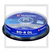 Диск Verbatim BD-R 50Gb 6x cake box 10