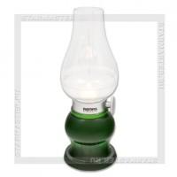 Светильник настольный LED REMAX RL-E200 Aladdin, 3 LED, аккумулятор, USB 5V, зеленый