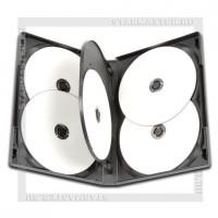 Коробка DVD Box 6 дисков Black 22мм глянец