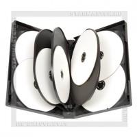 Коробка DVD Box на 10 дисков Black, глянец