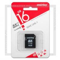 Карта памяти SDHC 16Gb SmartBuy (Class 10)