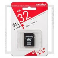 Карта памяти SDHC 32Gb SmartBuy (Class 10)