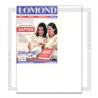 Картон самоклеющийся Lomond 330x440мм двухсторонний, 170 г/м2, 20л