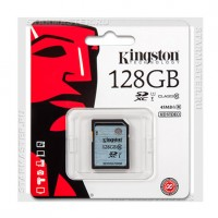 Карта памяти SDXC 128Gb Kingston (Class 10 UHS-I U1) 45MB/s