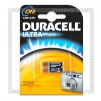 Батарейка CR2 3V Lithium Duracell Ultra Blister/1