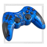 Геймпад Havit HV-G89W Blue, USB+PS2+PS3, беспроводной