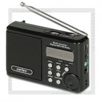 Радиоприемник Perfeo Sound Ranger УКВ+FM, MP3, USB/microSD, аккумулятор, черный