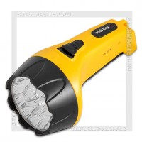 Фонарь аккумуляторный Smartbuy 220V 15 LED, желтый