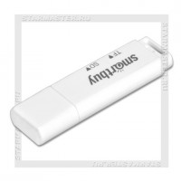 Картридер SmartBuy SBR-715 White (microSD/SD)