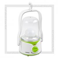 Светильник-фонарь кемпинговый SmartBuy 45 LED, аккумулятор, 220V, диммер, зеленый