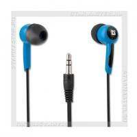 Наушники-вкладыши DEFENDER Basic 604, черный+голубой