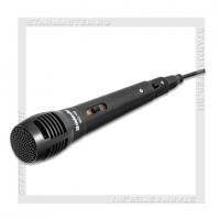 Микрофон DEFENDER MIC-129, караоке, черный, 5м