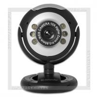 Web-камера DEFENDER C-110 0.3Mп 640х480, ручной фокус, подсветка, микрофон