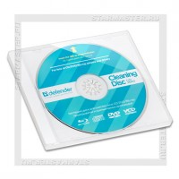 Чистящий CD диск DEFENDER Optima CLN 36903, влажный, 20мл