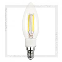 Диммируемая светодиодная лампа E14 5W 4000K, SmartBuy LED C37 Filament 220V