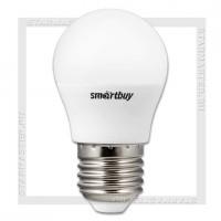 Диммируемая светодиодная лампа E27 G45D 7W 3000K, SmartBuy LED 220V