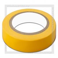 Изолента ПВХ 0.13х15мм, 10 метров, SmartBuy, желтая