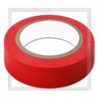 Изолента ПВХ 0.13х15мм, 10 метров, SmartBuy, красная