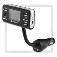 Автомобильный FM-модулятор DEFENDER RT-PRO USB/SD/microSD,AUX,LCD,пульт