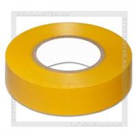 Изолента ПВХ 0.18х19мм, 20 метров, SmartBuy, желтая