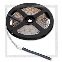 Светодиодная лента LED IP20 5050 12V 14.4Вт/м, 5м RGB цветная, 60 LED/м, SmartBuy