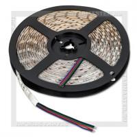 Светодиодная лента LED IP65 5050 12V 14.4Вт/м, 5м RGB цветная, 60 LED/м, SmartBuy