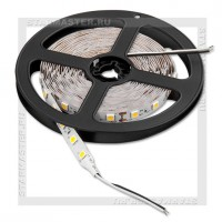Светодиодная лента LED IP20 5050 12V 14.4Вт/м, 5м белый теплый, 60 LED/м, SmartBuy