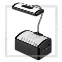 Радиоприемник I'STYLE LM-300 MP3 USB/SD, встроенный светильник, аккумулятор