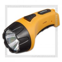 Фонарь аккумуляторный Smartbuy 220V 1 LED 3W, желтый