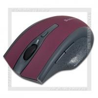 Мышь беспроводная DEFENDER Accura MM-665, AAAx2, Red