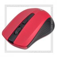 Мышь беспроводная DEFENDER Accura MM-935, AAAx2, Red