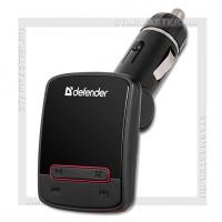 Автомобильный FM-модулятор DEFENDER RT-Hit USB/microSD, AUX, LCD, пульт