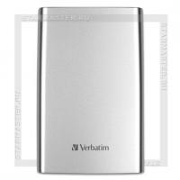Внешний накопитель 2.5' 1Tb Verbatim USB 3.0 Store'n'Go Silver