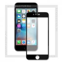 Защитное стекло Perfeo для Apple iPhone 6/6S, 2.5D Full, черное, 0.33мм(4408)