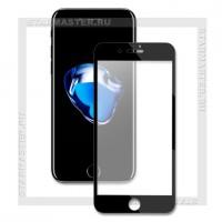 Защитное стекло Perfeo для Apple iPhone 7, 3D, черное, 0.2мм (4857)