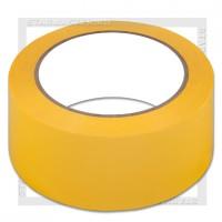 Скотч упаковочный цветной 48мм*100м 40мкм, желтый