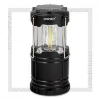 Светильник-фонарь кемпинговый SmartBuy 3 COB LED, 3xAA, черный