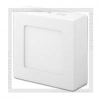 Светодиодный светильник LED SDL 220V 8W SmartBuy, накладной, квадратный 5000K IP20