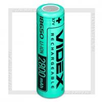 Аккумулятор 18650 2800mAh Videx Li-ion 3.7V, bulk 50, без защиты
