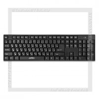 Клавиатура беспроводная Perfeo «CHEAP» Black